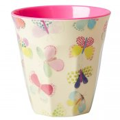 Mugg butterfly print Rice