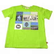 T-shirt Hero Factory lime (104) LEGOwear