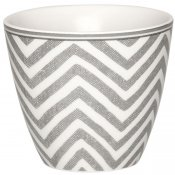 Latte mugg Ziggy warm grey GreenGate