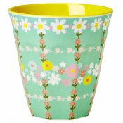 Mugg retro flower print Rice