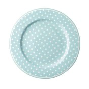Fat/assiett prickig pale blue GreenGate
