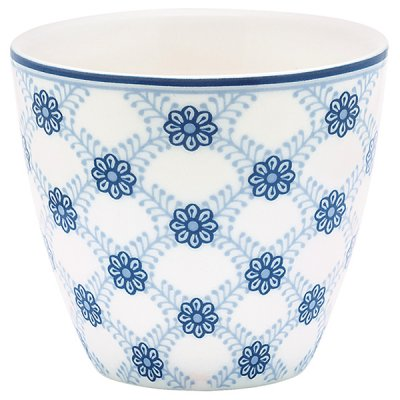 Latte cup Lolly blue från Greengate finns hos halloncollection.se