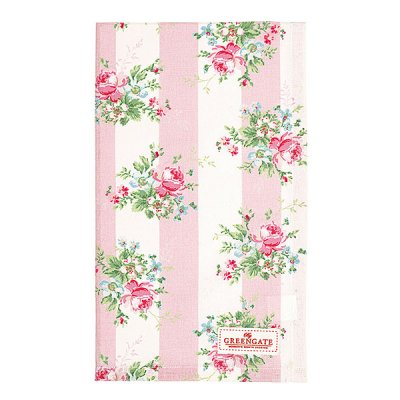 Tea towel Marie pale pink från Greengate finns hos halloncollection.se