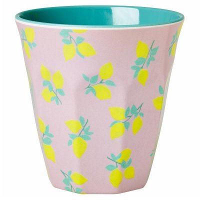 Mugg lemon print Rice