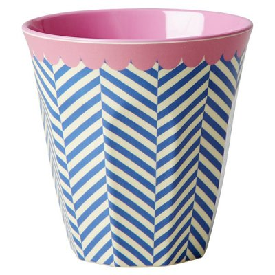 Mugg Sailor stripe print Rice