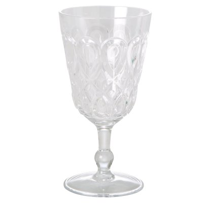 Wine glass acrylic Rice